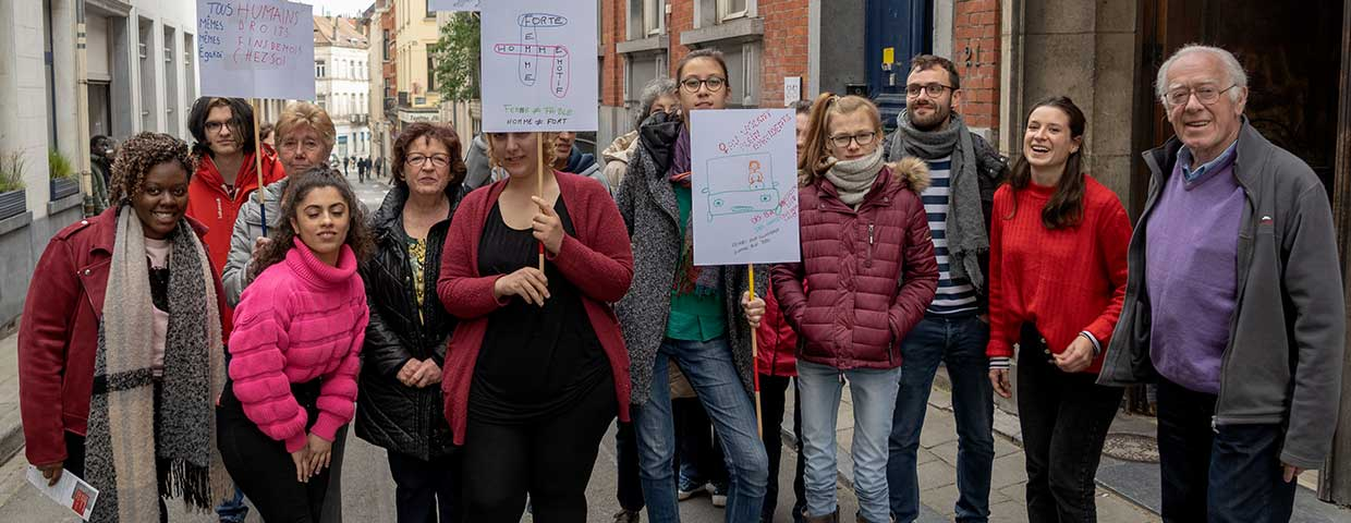 Triangle Rouge : à la rencontre d'associations bruxelloises